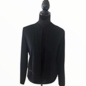 Misook Black Cardigan Size Medium